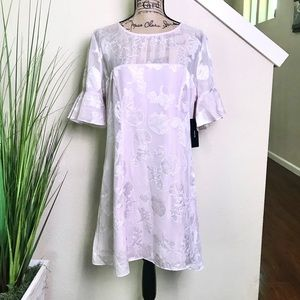 NWT Lulus shimmery light pink dress with seashells